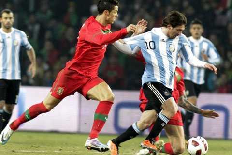 Argentina và Bồ Đào Nha đang sở hữu 2 ngôi sao hàng đầu thế giới