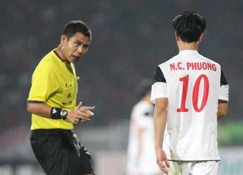 Trọng tài Sivakorn Pu-Udon không được mời tại giải U19 Quốc tế (Ảnh: Vnexpress)