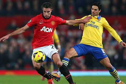Cửa đi tiếp của Man Utd sáng hơn của Arsenal rất nhiều