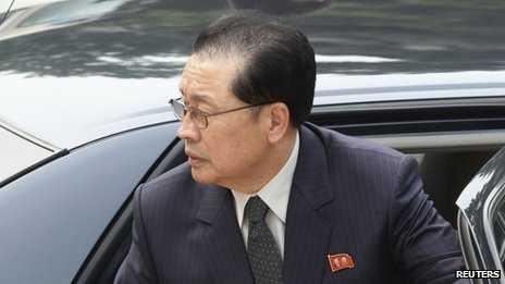 Ông Chang Song-thaek, chú của Chủ tịch Kim Jong-un