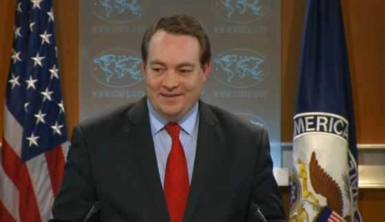 Patrick Ventrell- Phó phát ngôn viên Hội đồng An ninh Quốc gia Mỹ