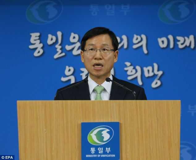 Phát ngôn viên Bộ Thống nhất Hàn Quốc Kim Eyi-do