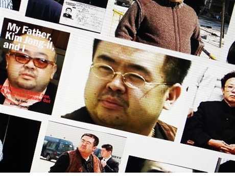 Kim Jong-nam, anh trai của Kim Jong-un