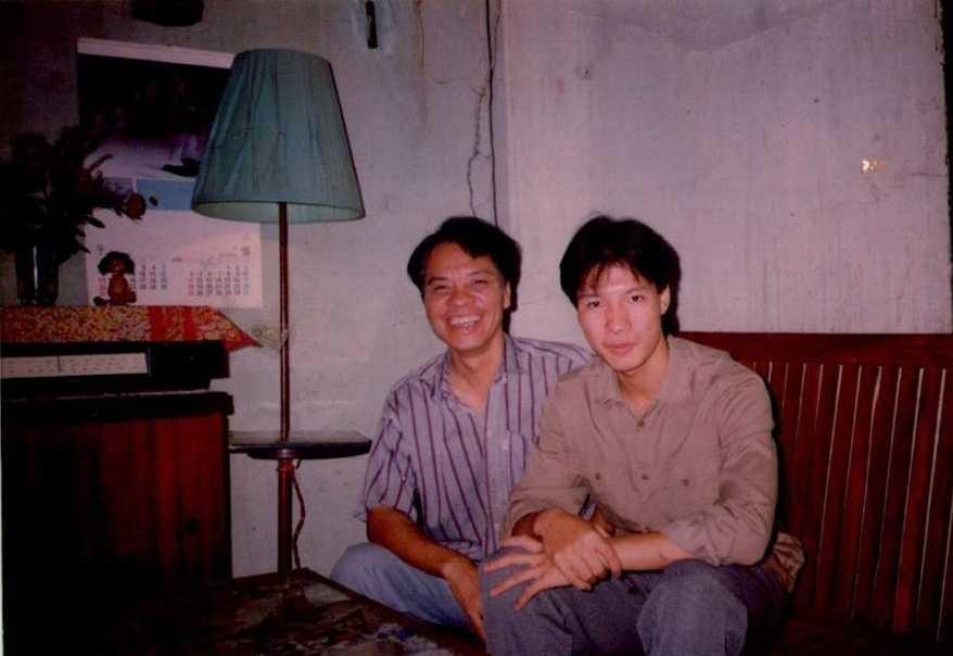 Nhạc sỹ Vũ Thảo và con trai - BLV Quang Huy
