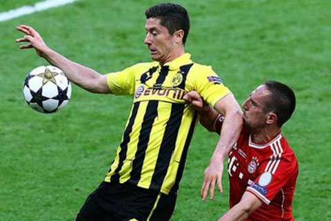 Lewandowski và Ribery sắp là đồng đội của nhau