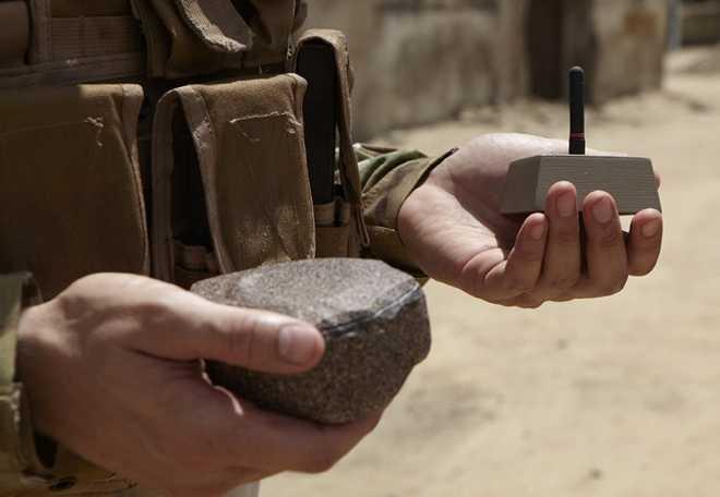 Hình ảnh hòn đá gián điệp của Mỹ do Lockheed Martin chế tạo