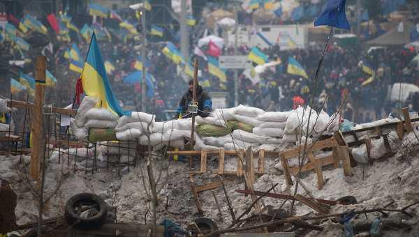 Chiến lũy người dân lập ra trong khi biểu tình