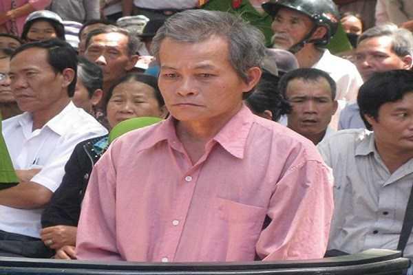 Nguyễn Văn Lợi tại phiên tòa lưu động