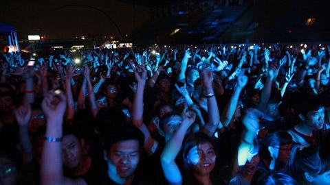 RockStorm 2013 đã thu hút gần 20.000 khán giả.