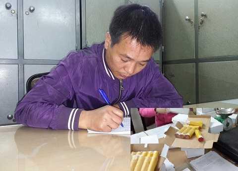Phạm Duy Thanh và tang vật