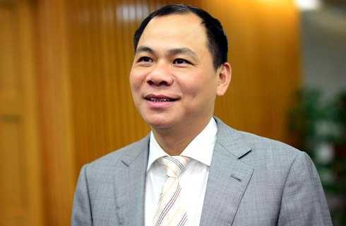 Ông Phạm Nhật VƯợng giữ vững ngôi vị đầu danh sách Top 10 người giàu nhất sàn chứng khoán 2013