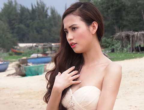 Mai Hồ – cô bạn gái xinh đẹp của chàng MC Trấn Thành lần đầu chạm ngõ làng điện ảnh.