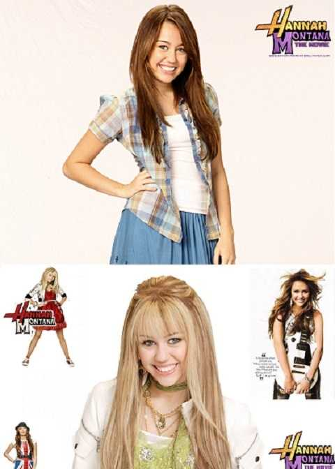 Miley Cyrus thuở còn là ngôi sao Hannah Montana.