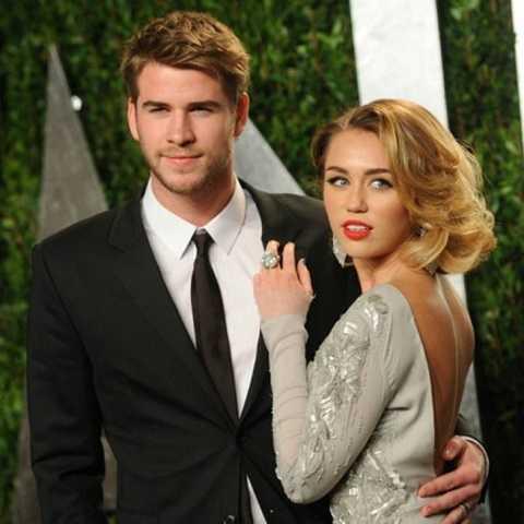 Miley Cyrus - Liam Hemsworth được xem là cặp đôi đẹp của Hollywood.