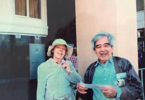 Bà Sofia Korchikova và người học trò Nguyễn Thúy Toàn gặp lại nhau vào tháng 9 năm nay.