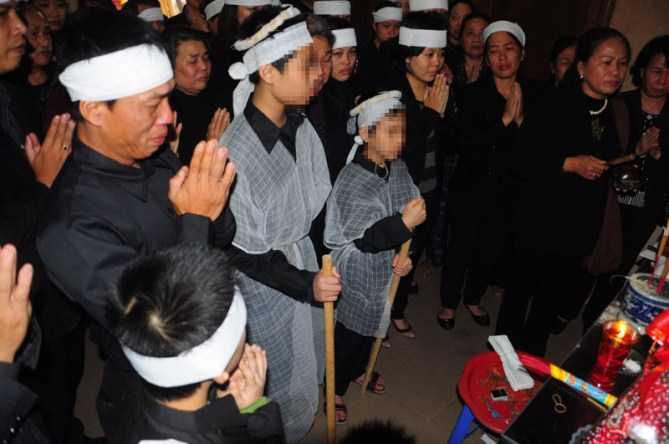 Đám tang không thi thể của chị Lê Thị Thanh Huyền