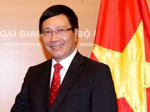 Phó Thủ tướng, Bộ trưởng Ngoại giao Phạm Bình Minh. (Nguồn: TTXVN)