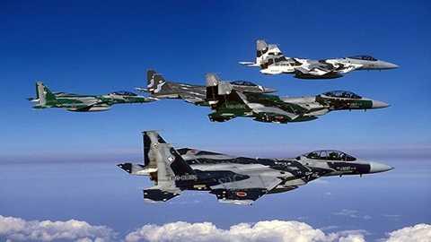 Máy bay chiến đấu F-15J của Nhật Bản