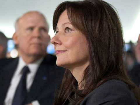 Mary Barra, CEO mới của General Motors là người phụ nữ quyền lực nhất trong ngành công nghiệp xe hơi thế giới.
