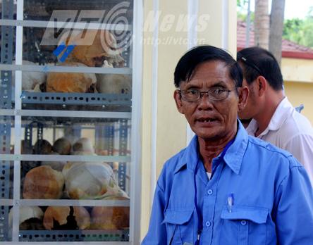 Ông Nguyễn Văn Tiệm, người giới thiệu tội ác Pol Pot ở nhà mồ Ba Chúc