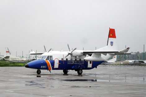 Việt Nam chính thức vận hành đủ 3 máy bay tuần thám biển hiện đại C-212-400.