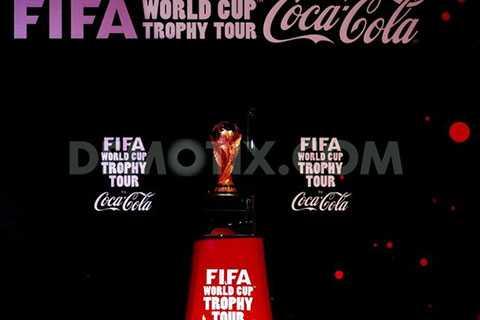 Chiếc cúp vàng FIFA đã có mặt ở Việt Nam