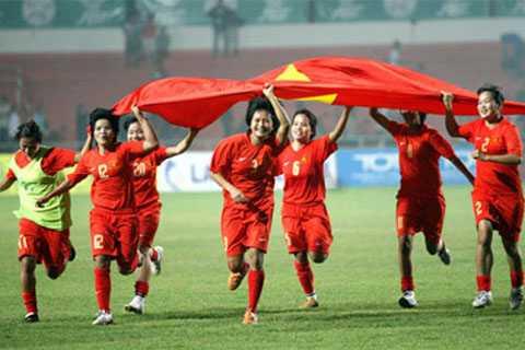 Đội tuyển nữ Việt Nam đã vào chung kết