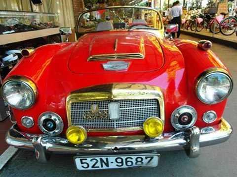 Fiar Auto Union, một trong những chiếc ôtô hàng hiếm trong bộ sưu tập của bà.
