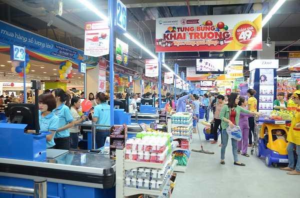 Trong dịp khai trương, TTTM Ocean Trung Hòa, Đại siêu thị Ocean Mart Times City và Ocean Mart Hà Tĩnh triển khai chương trình khuyến mại giảm giá tới gần 50% hơn 1.000 sản phẩm.