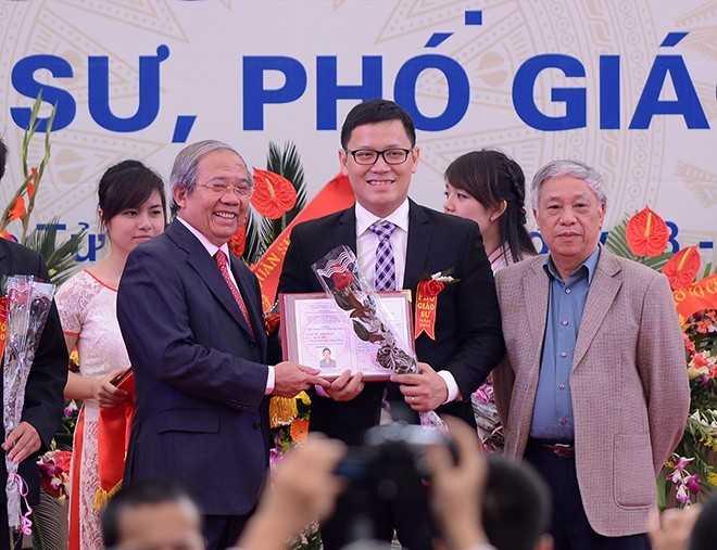 PGS.TS Lê Anh Vinh (Ảnh: Tuấn Mark)