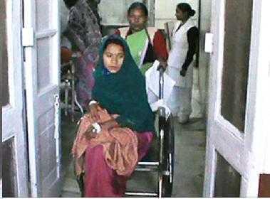 Anju Kushwaha đau buồn vì mất con.