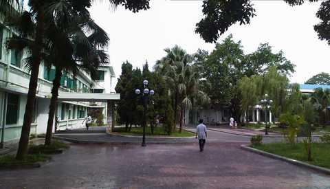 Bệnh viện Nhi Đức Hải Phòng, nơi cháu Lại Minh Ngọc tử vong - Ảnh internet