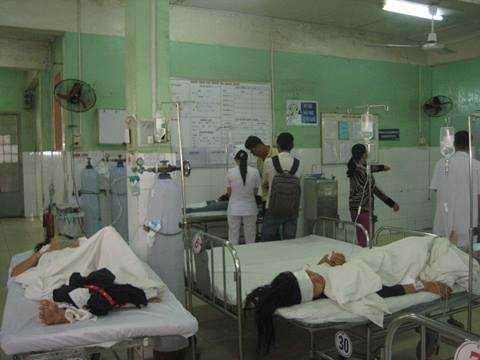 6 nạn nhân đang được điều trị tại bệnh viện Đa khoa tỉnh Đồng Nai