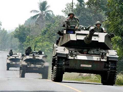 Xe tăng Thái Lan - Ảnh minh họa