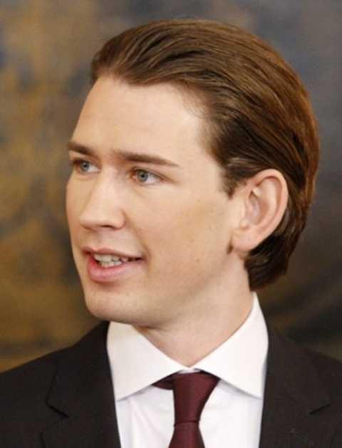 Sebastian Kurz, ngoại trưởng trẻ nhất của Áo cũng như châu Âu. Ảnh: AFP