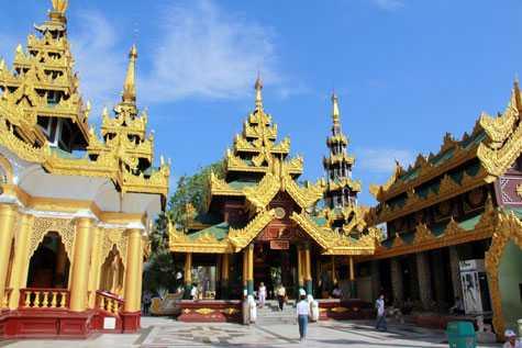 Chùa vàng Shwedagon (Ảnh: Thành Phạm)