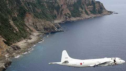 Máy bay quân sự Nhật bay trên quần đảo Senkaku/Điếu Ngư, khu vực ADIZ