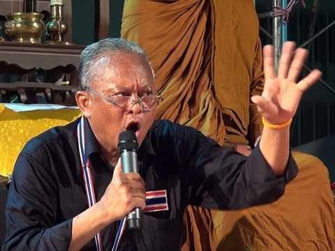 Thủ lĩnh lực lượng biểu tình tại Thái Lan Suthep Thaugsuban