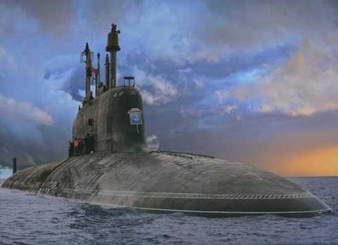 Tàu ngầm nguyên tử đa năng Severodvinsk Dự án 885 Yasen