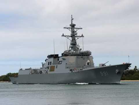 Tàu khu trục tên lửa lớp Sejong Đại đế trang bị hệ thống chiến đấu Aegis của Hàn Quốc