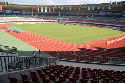 Zeyar Thiri có sức chứa 30.000 chỗ và là sân đạt chuẩn quốc tế.