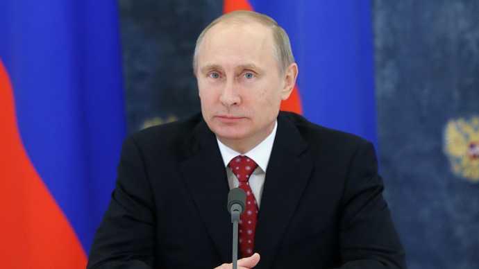 Tổng thống Nga Putin - Người đàn ông của năm theo bình chọn của tờ The Times
