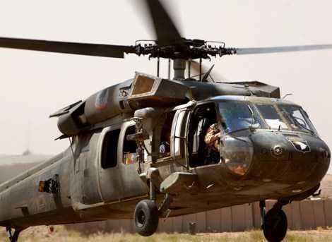 Trực thăng đa năng Black Hawk