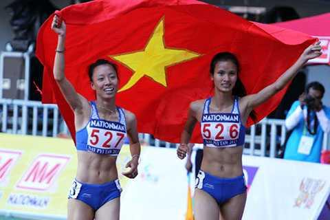 Đỗ Thị Thảo vô địch cự ly 800m nữ