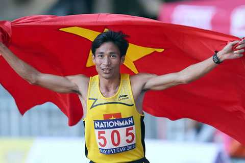Nguyễn Văn Lai xuất sắc giành HCV 5000m nam