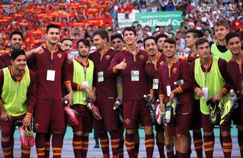 U19 AS Roma vẫn là một ẩn số với chúng ta (Ảnh: Quang Minh)