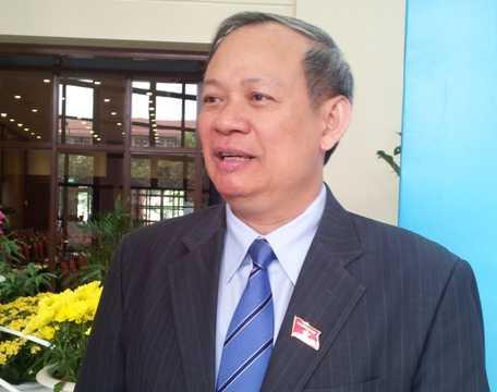 Ông Đinh Xuân Thảo - Viện trưởng Viện nghiên cứu lập pháp Quốc hội (Ảnh: Quang Tùng)