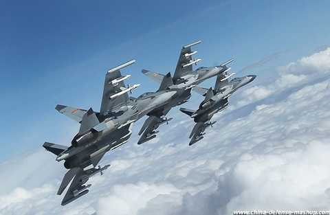 Máy bay chiến đấu Trung Quốc
