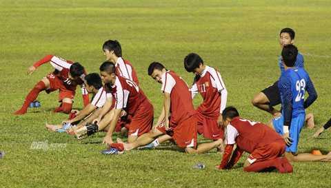 U19 Việt Nam muốn có mặt ở sân chơi thế giới (Ảnh: Minh Trần)