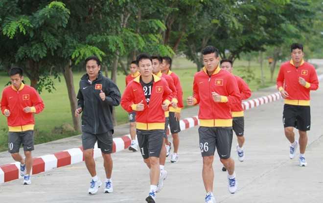 U23 Việt Nam không được bố trí xe bus để đi tới chỗ tập